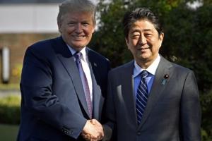 트럼프·아베 오늘 일본서 정상회담…대북압박 강화 방침 재확인