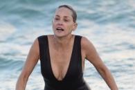 60세 앞둔 샤론 스톤의 여전한 섹시미