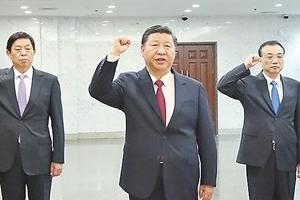 개인숭배 없다지만, 시진핑 방문지마다 '홍색 성지' 돼