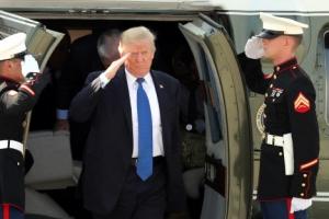 """트럼프, DMZ 회항 당시 헬기서 목격한 """"엄청난 것은···"""""""