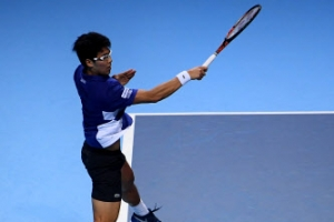 정현, 한국 선수로 14년만에 투어 대회 결승행…우승 도전
