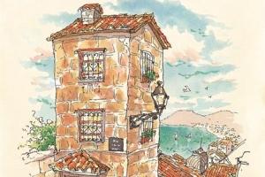 [그 책속 이미지] 수더분한 유럽 찾아 느긋한 스케치 산책