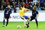 일본 축구, 브라질과 평가…