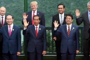 APEC 21개국 '신경전'…무역자유화 놓고 트럼프-시진핑 충돌