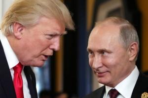 """트럼프·푸틴, 북핵 논의…전화 통화에서 """"한반도 핵문제 해결 강조"""""""