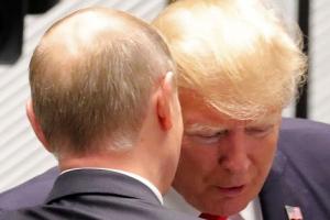 """트럼프 """"김정은 '작은 뚱뚱이' 모욕 안할 것...그는 나를 '늙은이'로 불러"""""""