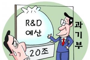 '20조 R&D예산권' 결국 과기부로