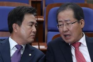 """한국당, """"홍종학 부적격"""" 당론 채택"""