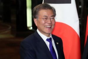文대통령, 필리핀서 리커창 中총리와 회담 시작