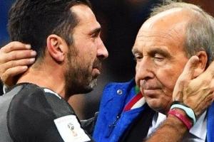 이탈리아 끝내 60년 만에 월드컵 좌절, 부폰은 은퇴 공표