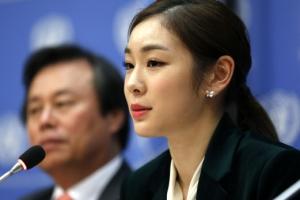 [포토] 유엔총회 특별연사로 나선 김연아