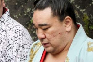 [포토] '맥주병 폭행' 일본 최고 스모 장사 요코즈나 하루마후지