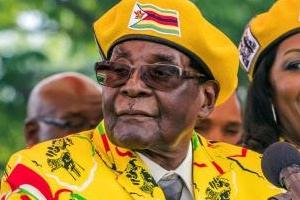 짐바브웨 쿠데타… 무가베 '37년 독재' 막 내려