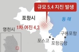 '역대 2위' 규모 5.4… 서울도 흔들렸다
