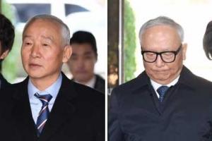 '국정원 특활비 상납' 남재준·이병기 구속