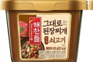 CJ제일제당, 간편 요리족 공략 '해찬들 그대로 끓여먹는 된장찌개'