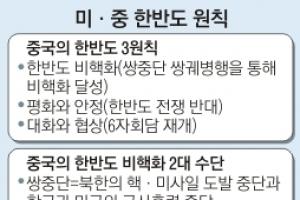 """美 """"포기 동의"""" 中 """"북핵 해결책""""…'쌍중단' 진실게임"""