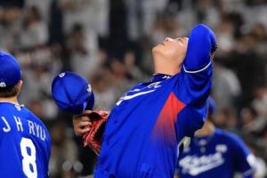 야구 한일전 일본에 7-8 연장 끝 분패…선동열 국대감독 데뷔 쓴잔