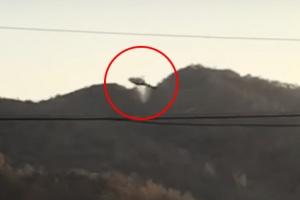(영상) 벌교 산불진화용 헬기 추락 순간