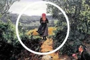 [핵잼 라이프] 160년 전 그림 속에 스마트폰 든 소녀?