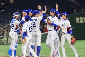 한국 '임기영 변화구·이정후 결승타'로 대만 1-0으로 꺾어