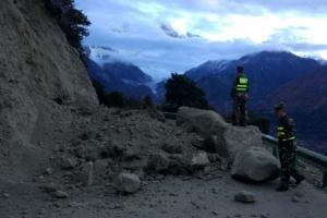 티베트 동부 6.3규모 지진