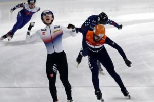 한국 월드컵 金 절반 싹쓸이… 쇼트트랙 '희망가'