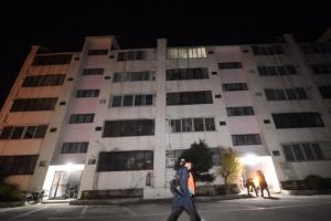 """""""포항 대성아파트 E동, 지진으로 3도 기울어진 상태"""""""