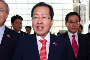 홍준표, 베트남 출국…韓기업 '리쇼어링' 방안 모색