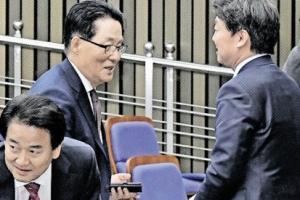 """安 """"3등은 소멸""""…국민의당 """"바른정당과 정책 연대"""" 일단 봉합"""