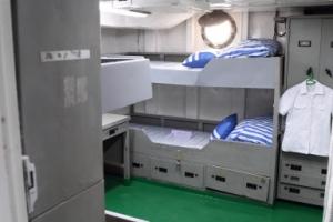 [서울포토] 해군 퇴역함 '서울함 공원' 개장… 서울함 내부 사병 침실