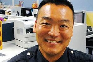 [포토] 'LAPD 서열 3위' LA 한인경찰 도미니크 최, 별 달았다
