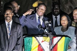 """짐바브웨 새 대통령 음난가그와 """"새 민주주의 시작"""""""