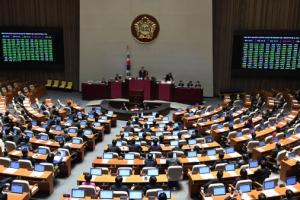 [서울포토] 사회적 참사법 국회 통과