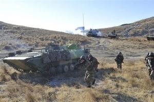 '유사시 한반도 투입' 中인민해방군 랴오닝서 훈련