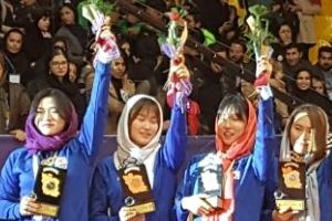 한국 남·녀 카바디, 비인기 설움딛고 아시아선수권서 나란히 메달