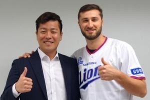 삼성, 팀 아델만 영입…MLB 출신 우완 투수, 105만 달러에 계약