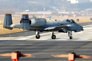 [포토] 오산기지서 이륙하는 'A-10 공격기'