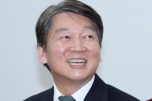 [서울포토] 취임 100일 맞은 안철수 대표 '밝은 미소'