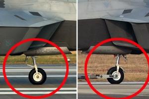 [포토] 한미 연합공중훈련 중 F-22 착륙하다 '랜딩기어 파손?'