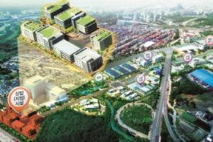 의왕테크노파크 상업지원시설용지 9일 분양…호텔 개발용지 포함