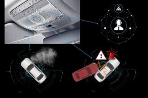 차량 충격, 네트워크 통해 감지…상담원과 스피커로 즉시 연결