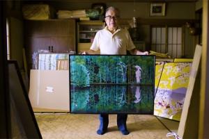 엑셀로 그림 그리는 일본 노인 화가 화제