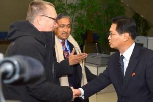 유엔 사무차장 전격 방북 '북핵 중재' 주목