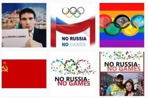 러시아, SNS에 해시태그 달며 IOC 결정에 항의