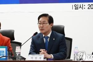 """문무일 '적폐 수사 연내 마무리' 발언에 박범계 """"고충 토로한 것"""""""