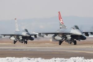 [서울포토] '비질런트 에이스'에 참가한 F-16 전투기