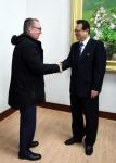 北 외무성 부상 만난 유엔…
