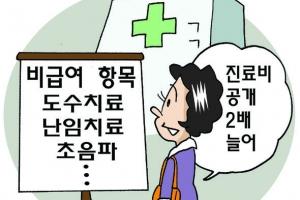 '비급여 ' 도수치료·초음파  내년 4월부터 진료비 공개