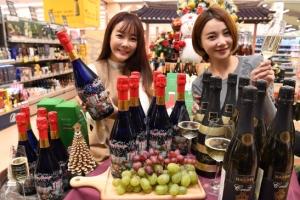 [서울포토] 연말 파티는 스파클링 와인과 함께